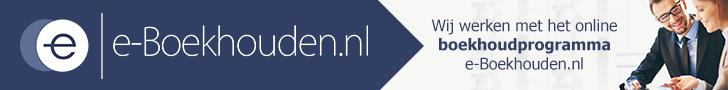 Wij werken met E-boekhouden.nl