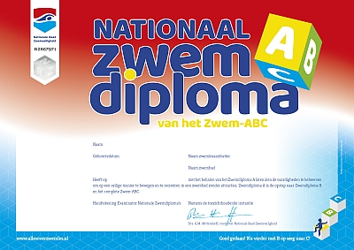 Nationaal zwemdiploma A