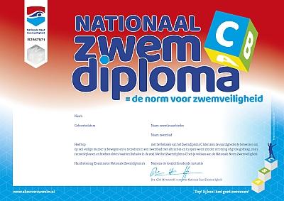 Nationaal zwemdiploma C